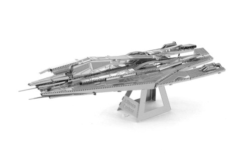 Metal Earth Mass Effect Alliance Cruiser 3D Metal  Model + Tweezer  033137