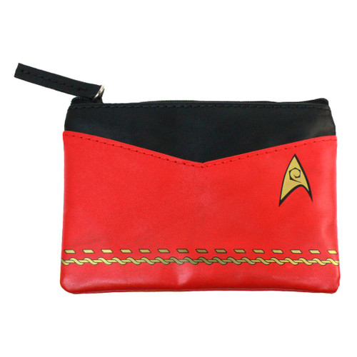 Star Trek TOS Uniform Coin Purse Red by The Coop