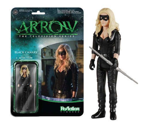 Arrow ReAction Black Canary figure Funko 053635