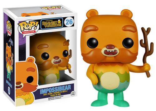 Pop Animation Bravest Warriors Impossibear figure Funko 051921