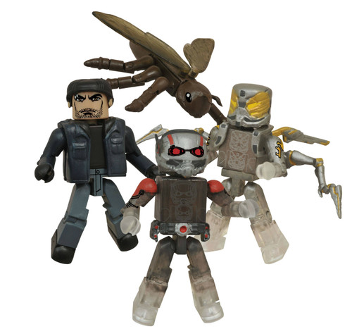 Marvel Minimates SDCC Ant-Man 4-pack Diamond 120347