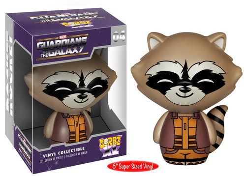 Guardians of the Galaxy Dorbz XL 04 Rocket Raccoon figure Funko 056643