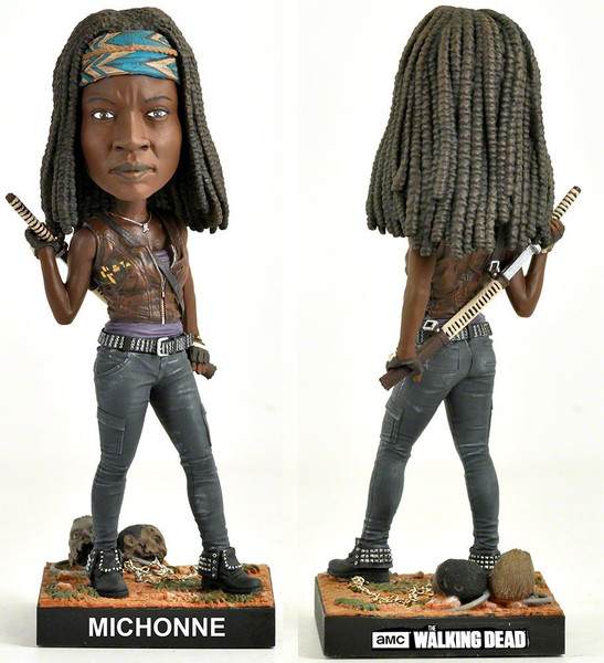 Royal Bobbles Walking Dead Michonne Bobblehead 11716