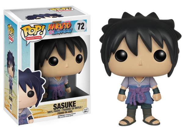 Pop Animation Naruto Shippuden 72 Sasuke figure Funko 63672