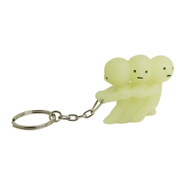 Smiski Glow in the Dark Pulling Keychain figure Dreams 62359
