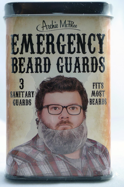 Accoutrements Emergency Beard Guards 3pcs 25924