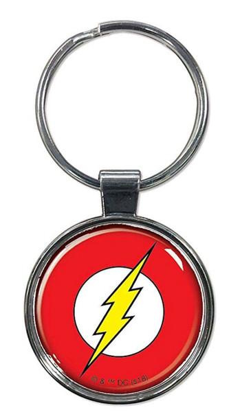 DC Comics The Flash Logo Keychain Ata Boy 61160
