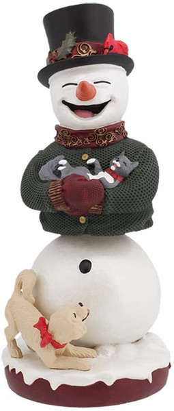 Royal Bobbles Snowman BobbleHIPS - Bobblehead 11860