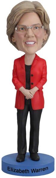 Presidential Candidates Elizabeth Warren Bobblehead Figure Royal Bobbles 12782