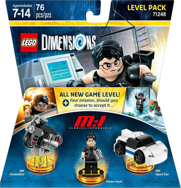 Lego Dimensions Level Pack Mission Impossible 71248 76 pcs