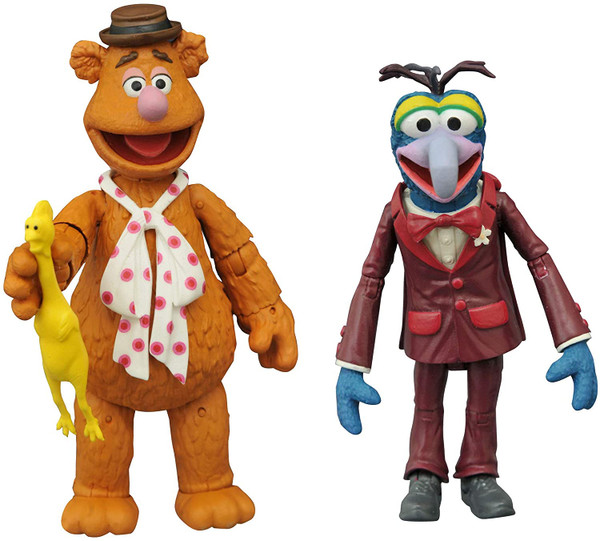 The Muppets Best of s1 Gonzo & Fozzie Figure Two-Pack Diamond 43093
