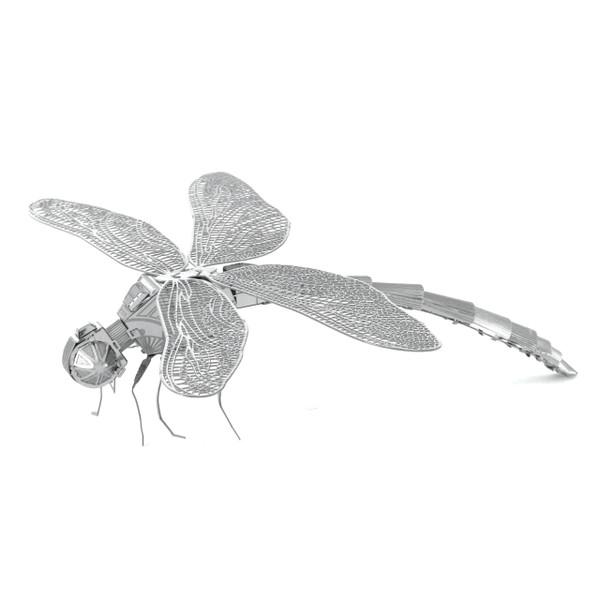 Metal Earth Dragonfly 3D Model  + Tweezers 10640
