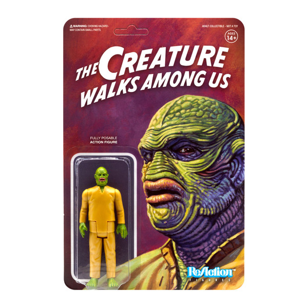 Universal Monsters Reaction Creature Walks Among Us figure Super 7 07891