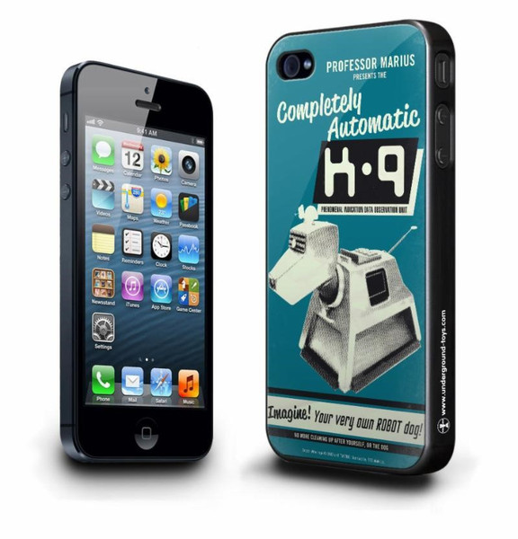 Doctor Who iPhone 5s 5c Case: Completely Automatic K-9 Underground 005295