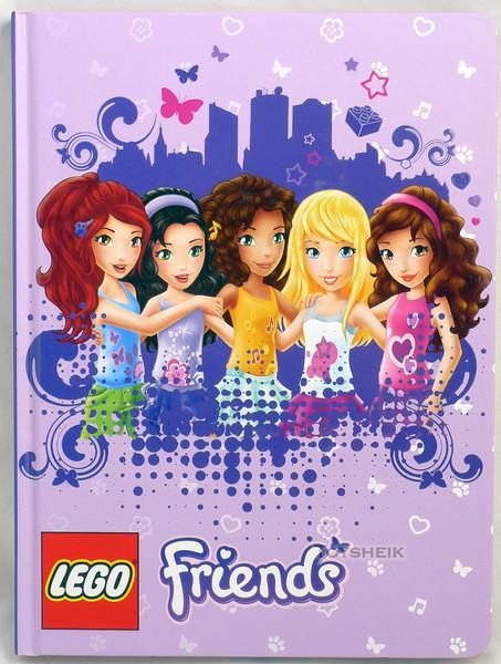 Lego Friends Journal in Purple Schylling 015449