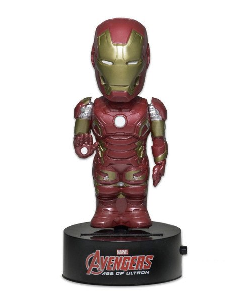 Avengers Age of Ultron Body Knockers Iron Man Solar figure Neca 61490