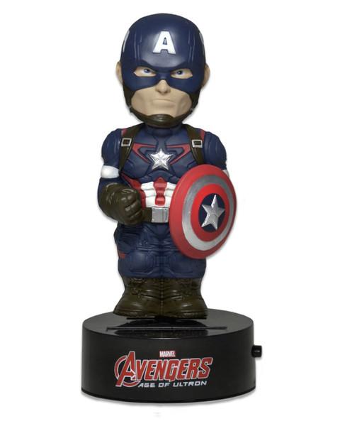 Avengers Age of Ultron Body Knockers Captain America Solar figure Neca 61491