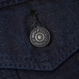 Pure Blue Japan 18 oz. Type III  Denim Jacket - Double Indigo