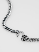 Good Art Sterling Silver Curb Chain #3 Necklace