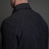 Nine Lives Replicant Raglan Western - Indigo Belgian Linen