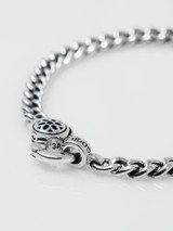Good Art Curb Chain #3 Bracelet - Sterling Silver