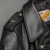 Schott NYC 613S Steerhide Rider's Jacket - Black