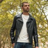 Schott NYC 503 Cowhide Rider's Jacket - Black
