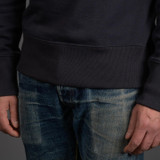 Merz b. Schwanen 346 Heavyweight Crew Neck Sweater - Charcoal