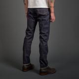 Momotaro 0605-70 13.5 oz Relaxed Tapered Jeans - Slubby Denim