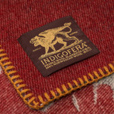 Indigofera 100% Wool Blanket - Eagle
