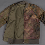 3sixteen Oil Camo Reversible Bomber Jacket