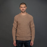"Nine Lives ""Knit Flows Like Water"" Sweater - Sand"