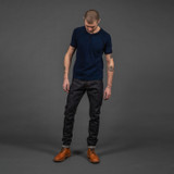 Pure Blue Japan SN-019 Snow Denim Jeans - Relaxed Tapered