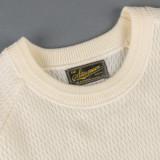 Stevenson Overall Merino Wool Thermal Sweater - Ivory