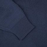 Stevenson Overall Merino Wool Thermal Sweater - Navy