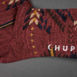 Chup Socks - Q'oa - Berry Red