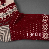 Chup Socks - Santa - Red