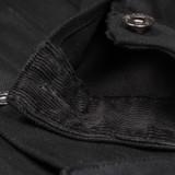 3sixteen DJ-220x Double Black Trucker Jacket