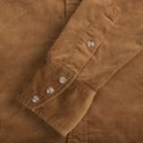 Stevenson Overall Corduroy Cody Shirt - Khaki