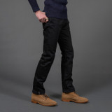 Iron Heart 14oz Black/Black Selvedge Jeans IH-888S-142bb - Relaxed Tapered