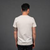 Merz b. Schwanen 2 Thread 215 Heavyweight Organic T Shirt – Natural