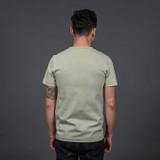 Merz b. Schwanen 2 Thread 215 Heavyweight Organic T Shirt – Sage