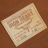 Iron Heart 17 oz. Duck Modified Type III Jacket - Brown