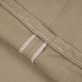 Pure Blue Japan Selvedge Twill Chinos - Beige