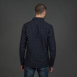 Momotaro 05-261 Indigo Jacquard Shirt