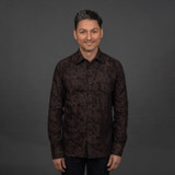 Rogue Territory Oxford Workshirt - Brown Camo