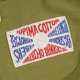 Indigofera Vintage Supima Malick T Shirt - Washed Army Green