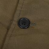 Rogue Territory Peacoat - Olive Jungle cloth