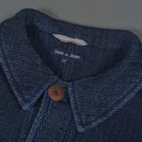 Fleurs De Bagne Bourgeron Sashiko Work Jacket