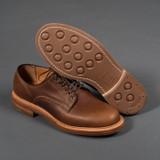 Viberg Derby Shoe - Camel Oiled Calf - 2030